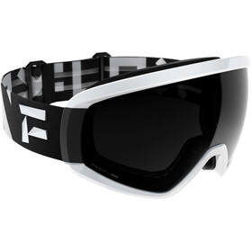 Flaxta Continuous Gafas, negro/blanco